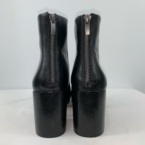 Gap Chunky Heel Over Ankle Boots Size 10